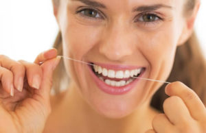 Oral health care flossing